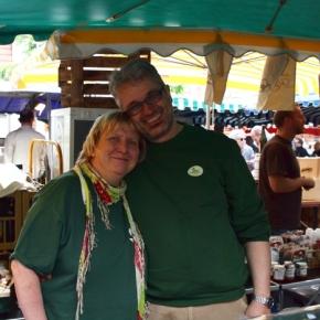 Veganer Stand auf dem NeuenheimerMarkt!