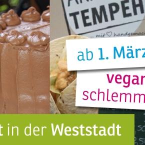 Auftakt für den neuen, veganerfreundlichen Samstagsmarkt in derWeststadt