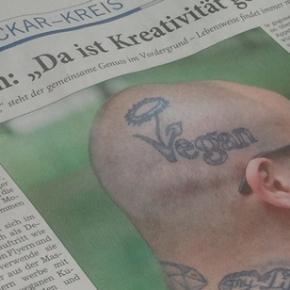 Vegan in Heidelberg in der RNZ – derMai-Stammtisch