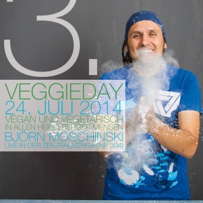 """Veggieday am 24.07.14 in der Zentralmensa – Die Zeughausmensa ist """"vegan friendly""""!"""