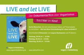 LIVE and let LIVE im Karlstorkino