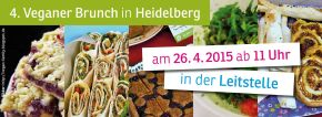 4. Veganer Brunch am 26.4.2015