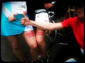 Vegane Läufer beimHalbmarathon