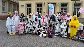 """""""Carne Vale"""" –Mitlaufen beim Heidelberger Faschingsumzug2016"""